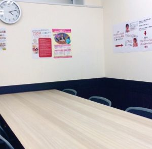 ecc外語学院の教室風景