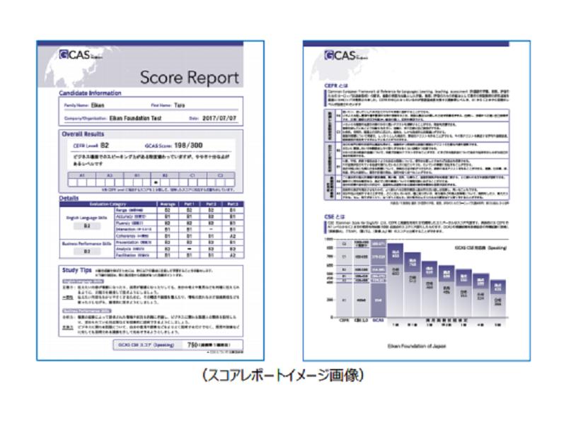 GCAS(ジーキャス)のスコアレポート