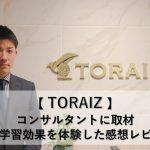 トライズ(TORAIZ)英語学習効果を体験した感想【コンサルタント取材】