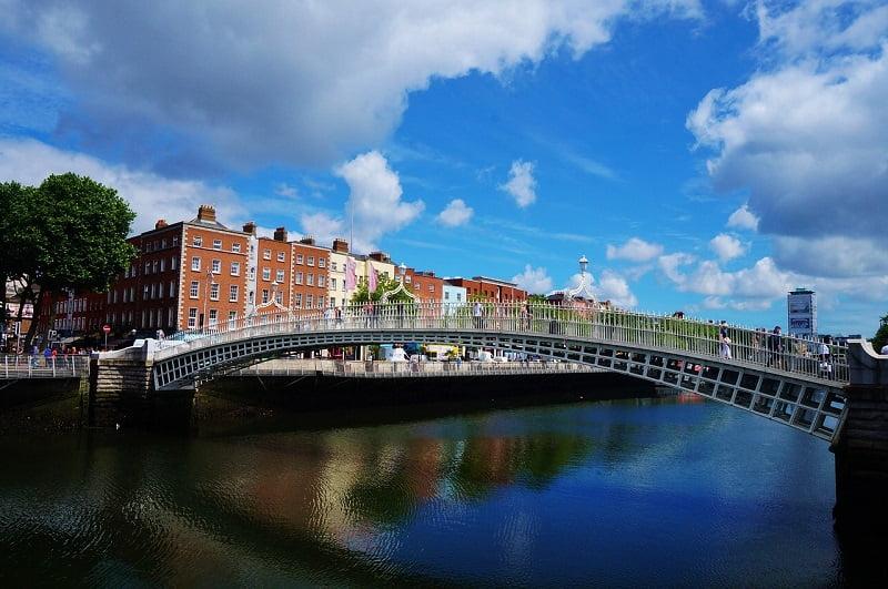アイルランド共和国の首都ダブリン