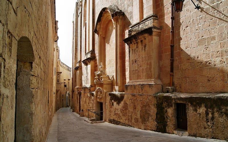 マルタ首都バレッタの街並み