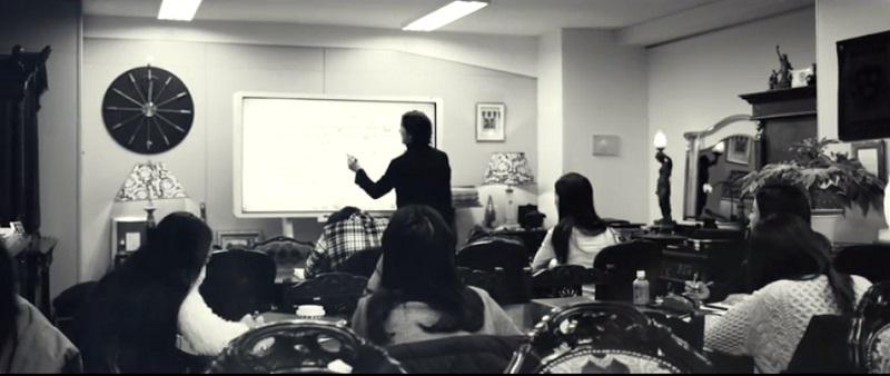 Liberty English Academy(リバティイングリッシュアカデミー)の授業と生徒の様子